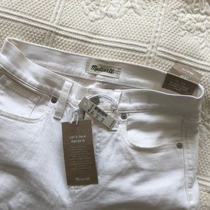 Brand new Madewell denim cropped